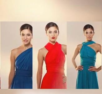 美眉无尽百变连衣裙2, 不同风格不同感受!